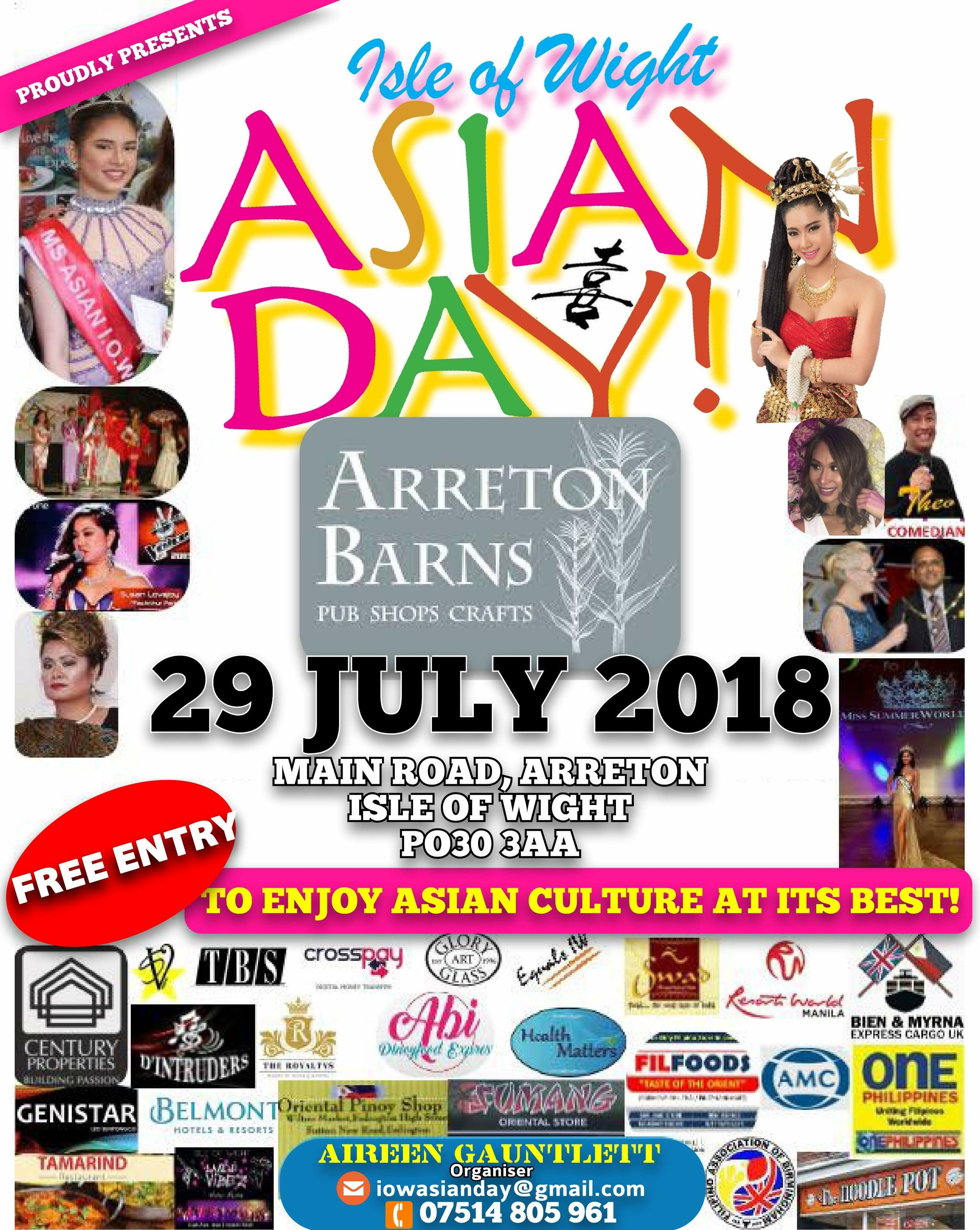 2018 Asian Day Flyer
